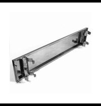 Gastro-Inox 700 HP RVS plint voorzijde 40cm | 400(b)x120(h)mm