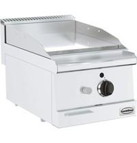CombiSteel Base 600 gas bakplaat ENK | 6 kW/h | Verchroomd glad |  400x600x300(h)mm