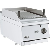 Combisteel Base 700 lavasteen grill gas | 9kW/h | 400x700x300(h)mm