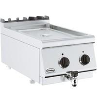 Combisteel Base 700 bain marie elektrisch   1,5 kW/h   Met aftapkraan   400x700x300(h)mm
