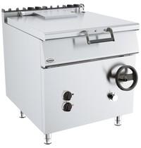 CombiSteel Base 700 braadslede kantelbaar  | 9 kW/h | 800x700x900(h)mm