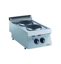 Combisteel Pro 700 kookunit elektrisch | 2 platen | 5,2 kW/h | 400x750x250(h)mm