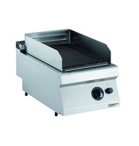CombiSteel Pro 700 gas lavasteen grill | 7 kW/h | 400x700x250(h)mm