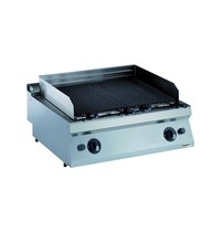 CombiSteel Pro 700 gas lavasteen grill | 14 kW/h | 800x700x250(h)mm