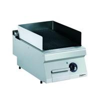 CombiSteel Pro 700 lavasteen grill elektrisch | 4 kW/h | 400x700x250(h)mm