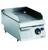 CombiSteel Pro 700 gas bakplaat chroom glad | 7kW/h | Bakplaat 330x540mm | 400x700x250(h)mm