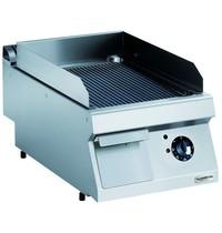 Combisteel Pro 700 elektrische bakplaat geribd | 4,2 kW/h | Bakplaat 330x540mm | 400x700x250(h)mm