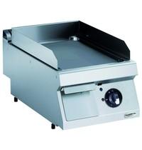 Combisteel Pro 700 elektrische bakplaat verchroom glad | 4,2 kW/h | Bakplaat 330x540mm | 400x700x250(h)mm