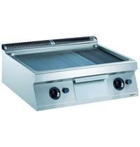 CombiSteel Pro 700 gas bakplaat glad/geribd | 14 kW/h | Bakplaat 730x540mm | 800x700x250(h)mm