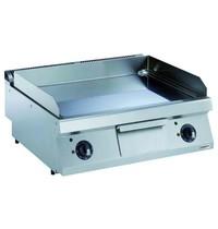 Combisteel Pro 700 elektrische bakplaat verchroomd glad | 8,4 kW/h | Bakplaat 730x540mm | 800x700x250(h)mm