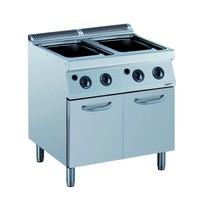CombiSteel Pro 700 gas pastakoker op onderstel | 21 kW/h | 800x700x850(h)mm