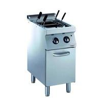 Combisteel Pro 700 elektrische pastakoker op onderstel 25L  | 6 kW/h | 400x700x820(h)mm