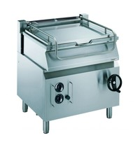 CombiSteel Pro 700 gas kantelbare braadslede | 16 kW/h | 800x700x850(h)mm