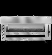Naomi Pita-oven met waterverdampingsysteem | 12,50 kW/h | 5 elektrische elementen | 1290x430x600(h)mm