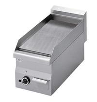 Mastro Bakplaat/grillplaat glad staal | 5,2 kW/h | Bakplaat 295x470mm | 300x600x280(h)mm