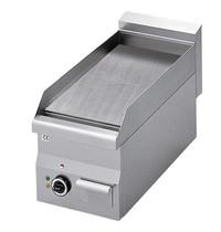 Mastro Bakplaat/Grillplaat glad staal | 3 kW/h | Bakplaat 295x470mm | 300x600x280(h)mm