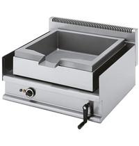 Mastro Braadpan elektrisch kantelbaar RVS 30L | 6,3kW/h | 700x650x280(h)mm
