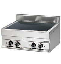 Mastro Kookplaat keramisch | 4 platen | 9,2 kW/h | 700x650x280(h)mm
