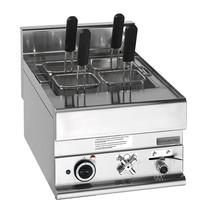 Mastro Pastakoker elektrisch  20L | 6kW/h | Met aftapkraan | 400x650x280(h)mm