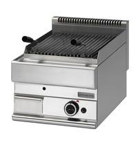 Mastro Lavasteengrill gas | 5,5 kW/h | Gietijzeren grill | 400x650x280(h)mm