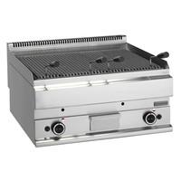 Mastro Lavasteengrill gas | 11kW/h | Gietijzeren grill | 700x650x280(h)mm