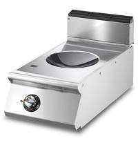Mastro Inductie wok Top met 1 kookzone | 5 kW/h | 5 kW/h | 400x730x250(h)mm