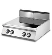Mastro Glas keramische kookplaat Top met 4 kookzones | 10 kW/h | 800x730x250(h)mm