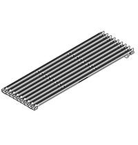 Mastro Omkeerbare gietijzeren grill voor vlees of vis | 180(l)x480(d)mm