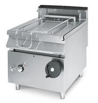 Mastro Braadpan elektrisch RVS 60L | 10 kW/h | Handmatig kantelsysteem | 800x730x870(h)mm