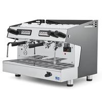 Mastro Espressomachine RVS automatisch | 2 groepen | 3,7 kW/h | 665x563x530(h)mm