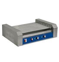 Ristormarkt Worstenverwarmer elektrisch | 9 rollen | 1,8 kW/h | 585x415x170(h)mm