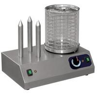 Mastro Worstenwarmer | 230V | 3 warmhoud pennen | Cap 40 worsten | 470x330x385(h)mm