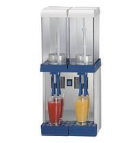 Mastro Dranken dispenser 2x 9L | 230V | Met verticaal roerwerk | 300x300x700()mm