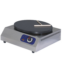 Mastro Crepes apparaat elektrisch | 1x  Ø400mm | 3 kW/h | 420x470x190(h)mm