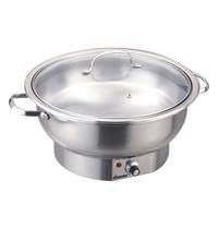 Bartscher Chafing-dish 500 E 3,8L | Elektrisch | 230V | 8 traps thermostatisch | 405x330x220(h)mm