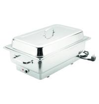 Bartscher Chafing dish 1000 E 13,5L | 1kW/h | 1/1 GN | 623x356x285(h)mm