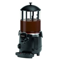 Bartscher Chocoladedispenser zwart 9,5L | 1 kW/h | Met afneembare aftapkraan | 280x410x580(h)mm
