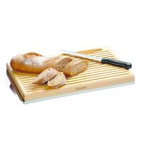 Bartscher Broodsnijplank KSE475 hout  | Incl. 1 broodmes RVS met kunststof greep | 475x260x40(h)mm