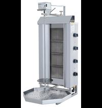 Vulqan Dönergrill | Gas (4 Branders) | Max. 50 kg | 545x640x1142(h)mm