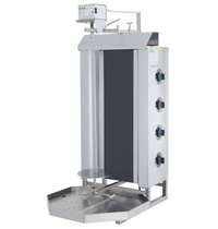 Vulqan Dönergrill   Elektrisch (4 Elementen)   Max. 50 kg   545x691x1142(h)mm