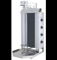 Vulqan Dönergrill | Elektrisch (4 Elementen) | Max. 50 kg | 545x691x1142(h)mm