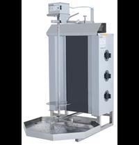 Vulqan Dönergrill | Elektrisch (3 Elementen) | Max. 30 kg | 545x691x982(h)mm