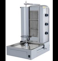 Vulqan Dönergrill | Gas (3 Branders) | Max. 40 kg | 565x664x912(h)mm