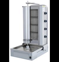 Vulqan Dönergrill | Gas (4 Branders) | Max. 70 kg | 595x664x1087(h)mm