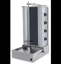 Vulqan Dönergrill | Elektrisch (4 Elementen) | Max. 70 kg | 547x663x1070(h)mm