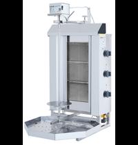 Vulqan Dönergrill | Gas (3 Branders) | Max. 30 kg | 545x640x982(h)mm