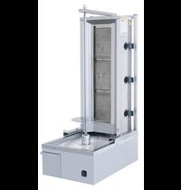 Vulqan Dönergrill | Gas (3 Branders) | Max. 40 kg | 410x634x1089(h)mm