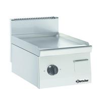 Bartscher Bakplaat/Grillplaat 600 B400 | Bakplaat glad (b)390x(d)440mm | 400x600x290(h)mm