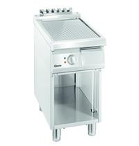 Bartscher Bakplaat/Grillplaat 700  B400 | Bakplaat geribbeld (b)320x(d)445mm | 5 kW/h | 400x700x850(h)mm