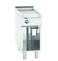 Bartscher Bakplaat/Grillplaat 900 | Bakplaat glad (b)355x(d)760mm | 7,5 kW/h | 400x900x900(h)mm